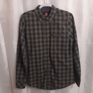 Quicksilver Long Sleeve Button Down Shirt
